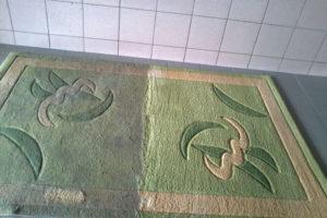 Химчистка ковров в цеху в Москве
